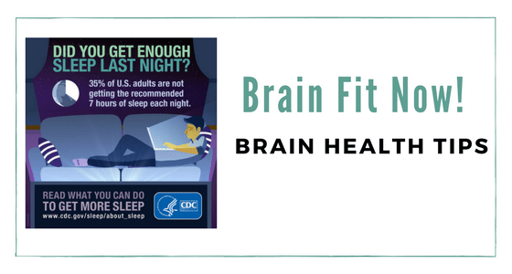 Brain Health Tips – Three Ways to Improve Your Sleep