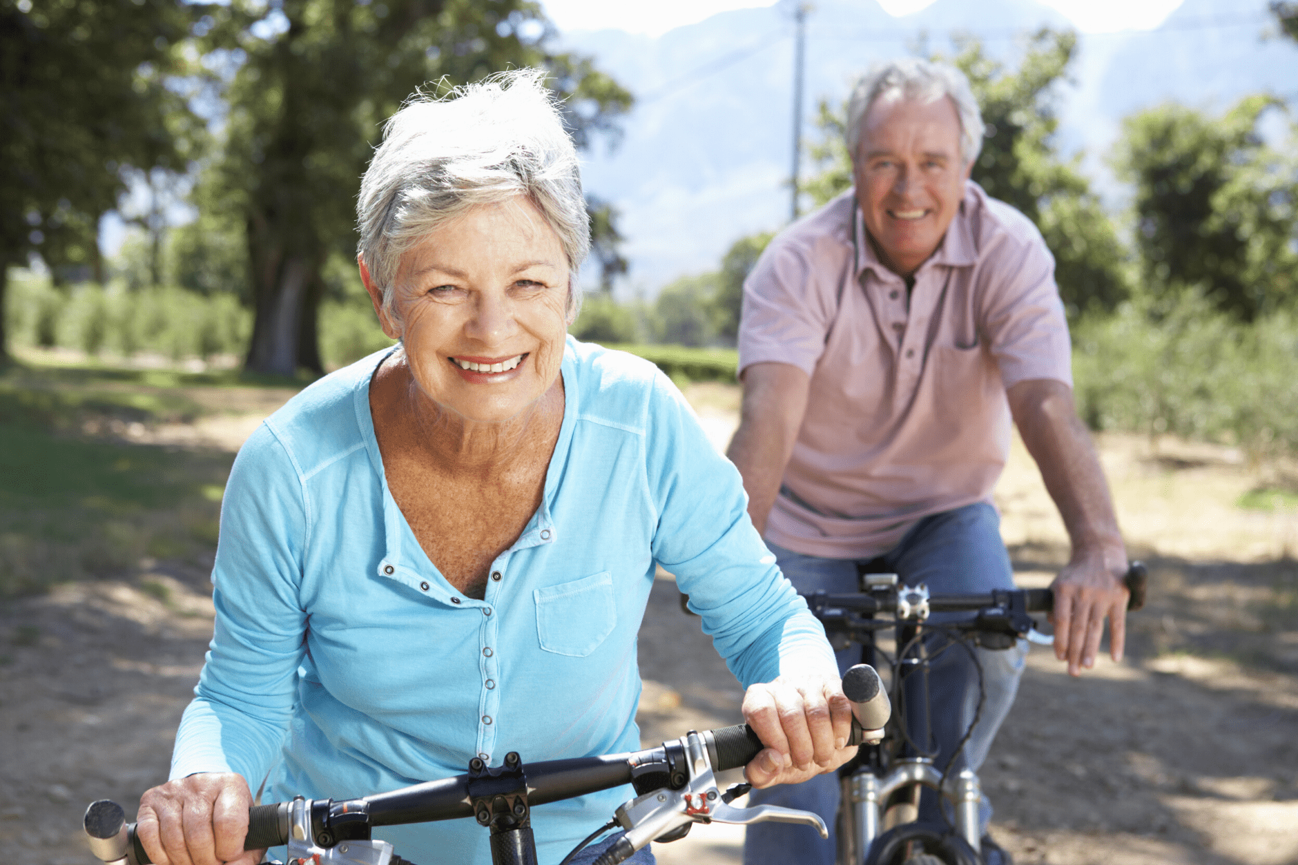 Olders biking